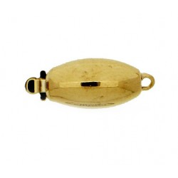 One strand Oval Clasp