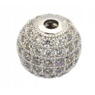 Cubic Zirconia Bead