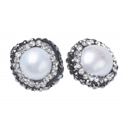 Round Shell Pearl Beads